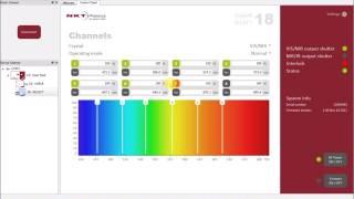 革新的可視レーザシステム:任意の波長を同時出力